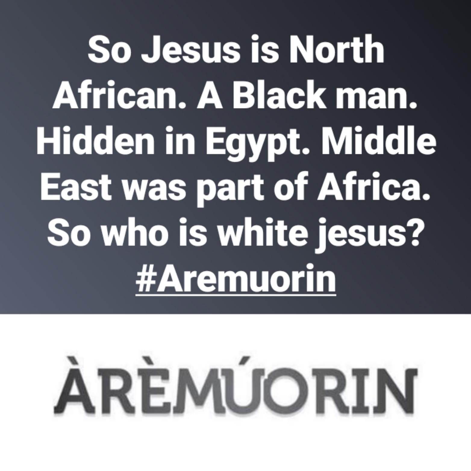 White Jesus - Aremuorin